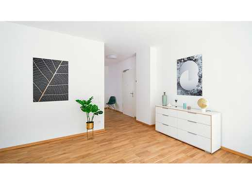 Erstbezug! Ideal geschnittene 3-Zimmer-Wohnung mit Terrasse und Gartenanteil