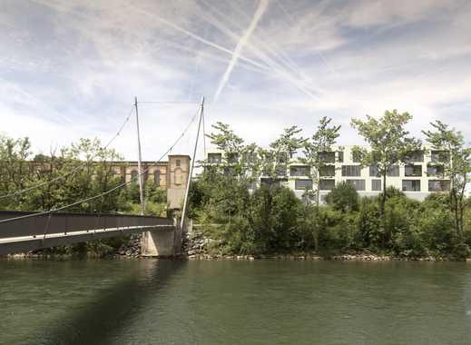 Erstbezug: Exklusive 1-Zimmer Loft-Wohnung mit EBK und Balkon in Kempten (Allgäu)