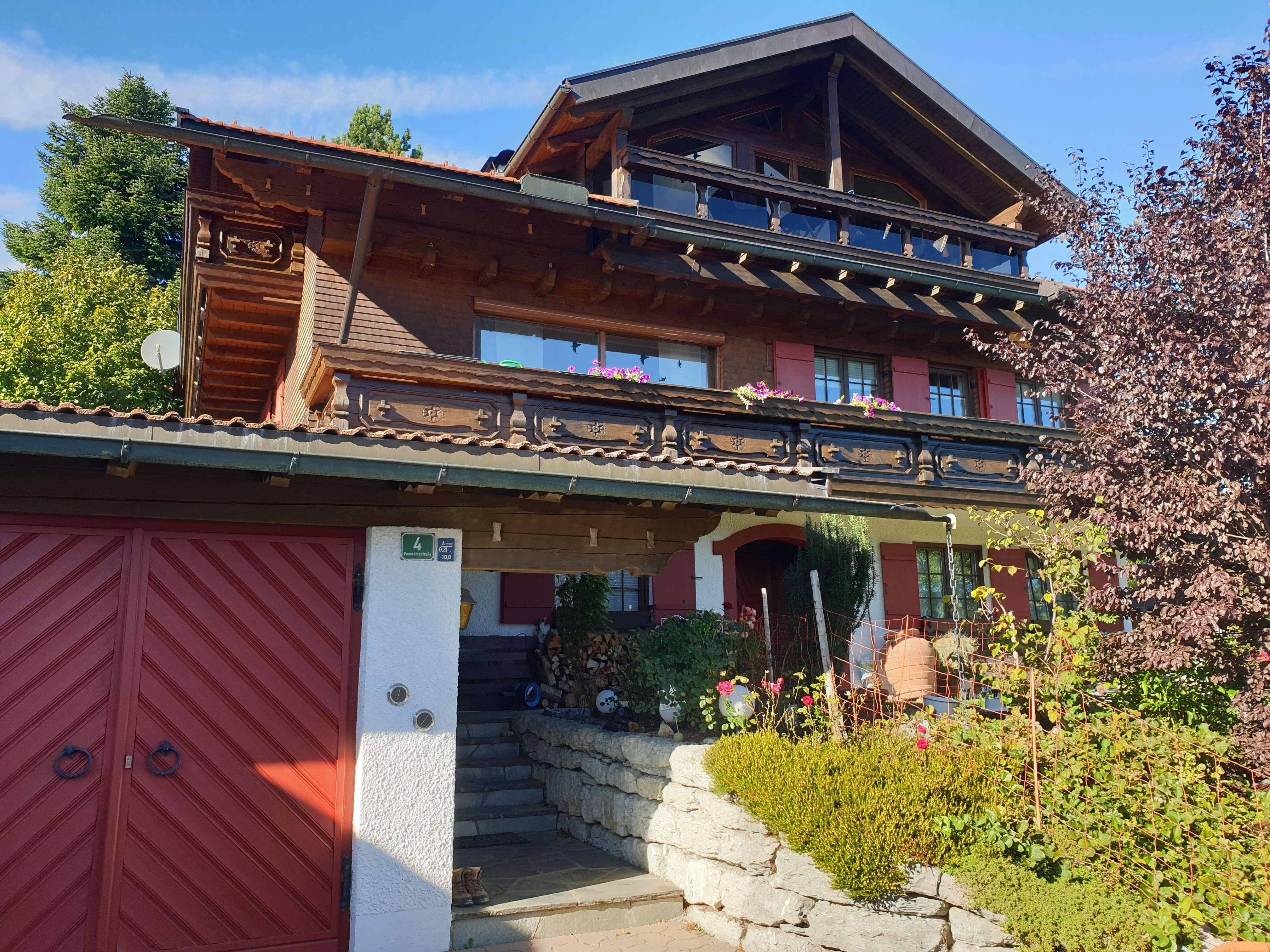 Traumhafte 3,5-Zi-Whg. mit Seeblick und Sauna in Sulzberg
