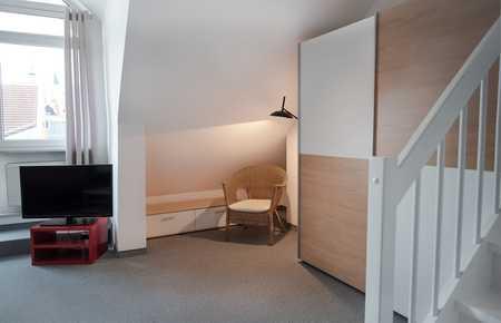 Teilmöbliertes Apartment mit Süd-Balkon in verkehrsgünstiger Lage (S1) in Neufahrn bei Freising