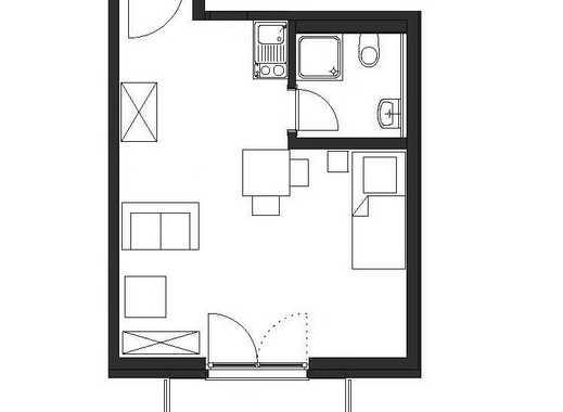 Apartment mit BLK, Parkett, Fußbodenhzg., Pantry & Duschbad ab 01.08.! Bonn-Zentrum: Heerstr. 187.