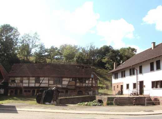 Denkmalgeschütztes Bauerngehöft mit Wohnhaus, Stallungen und Scheune