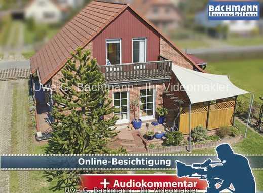 Berlin - Mahlsdorf: vollverklinkertes Einfamilienhaus mit 5 Zi, Sauna und Pool - UWE G. BACHMANN