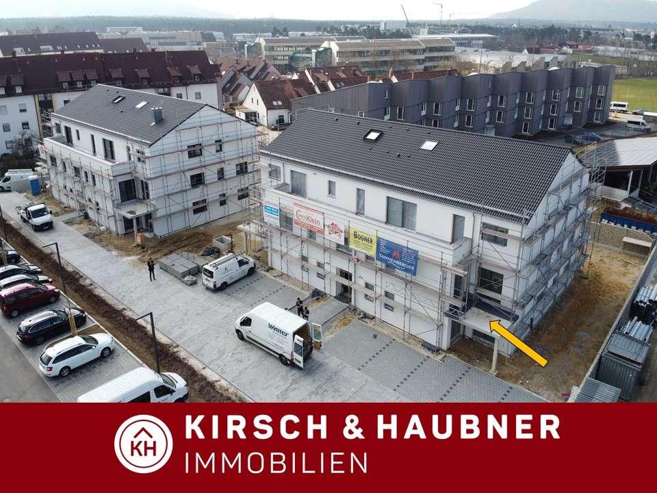 Einziehen & wohlfühlen!  Attraktive Neubau-Wohnung in ruhiger Lage,  Neumarkt - Regensburger St... in