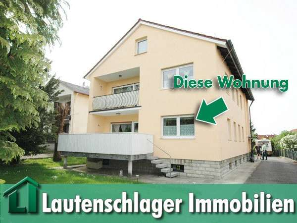 Ideal für das Paar! Großzügige 3-Zimmer-Wohnung mit Gartenanteil in Neumarkt-Woffenbach in