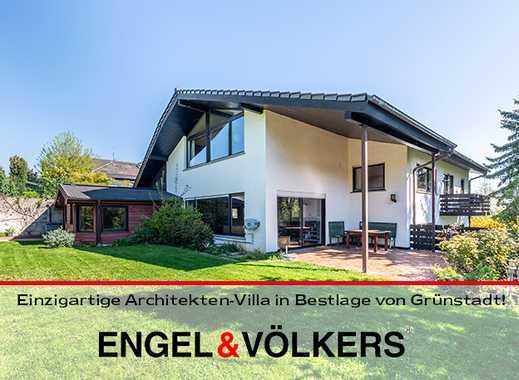 **Preisreduktion**Einzigartige Architekten-Villa in Bestlage von Grünstadt!