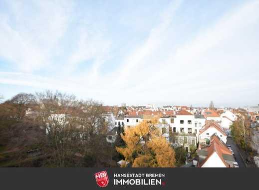 Osterdeich / Kapitalanlage: Traumwohnung mit Blick über Bremen