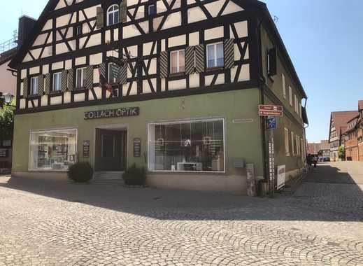 Fachwerkhaus mit 1.000qm Nutzfläche (Miet- und Gewerbeflächen) in der Stadtmitte von Bad Windsheim