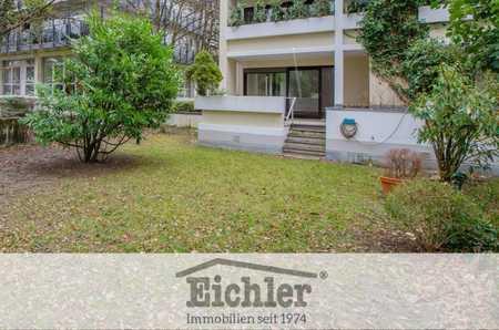 EICHLER IMMOBILIEN: Apartment in Bestlage mit über 100 m² Privatgarten in Bogenhausen (München)
