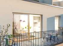 NEUBAU-ERSTBEZUG - 2-Zimmer-Wohnung mit Balkon