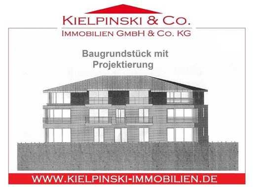 Baugrundstück mit Projektierung im beliebten Dorfkern von Wellingsbüttel