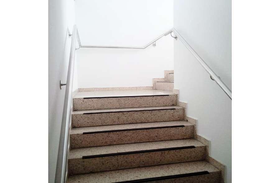 Treppe zur 2.Ebene