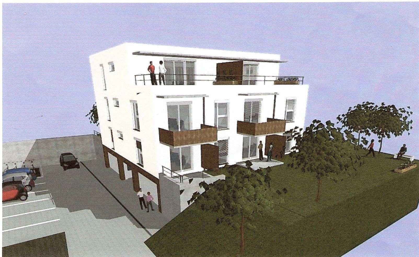Gepflegte 3-Raum-Wohnung mit Balkon und Einbauküche in Straubing in