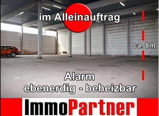 • Lager • Produktion • Höhe ca. 8,00 m • ebenerdig • beheizbar • 2 Tore • Alarm • Hamburger-Hafen