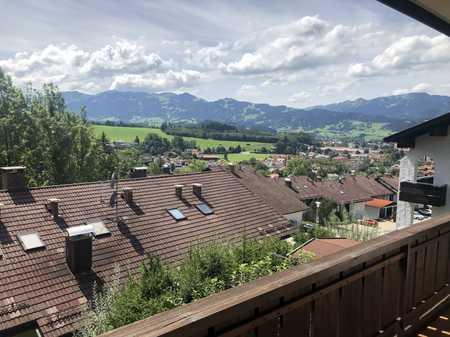 Gepflegte 3-Zimmer-Wohnung mit Balkon und Einbauküche in Sonthofen in Sonthofen