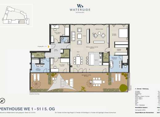 Klugen Luxus leben: Penthouse-Bungalow am Wöhrder See