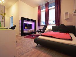 ApartDeluxe - Wohn, Schlafbere