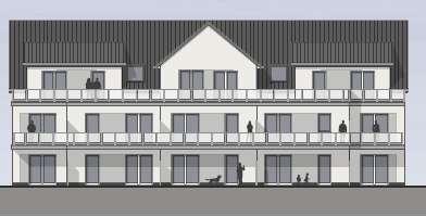 Erstbezug: Tolle 2-Zimmer-Neubau-Wohnung mit Einbauküche und Terrasse in Weetzen