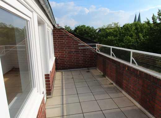 Exklusive 4,5-Z-Maisonette-Whg mit Dachterrasse (Wallanlagen)