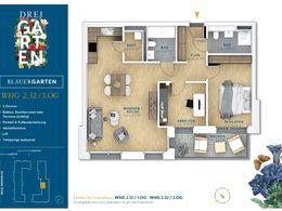 Grundriss Wohnung 2.32
