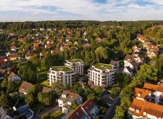 Neubau-Wohnen im Hainbrunnenpark: 3-Zimmer-Wohnung mit Terrasse und Gartenanteil!