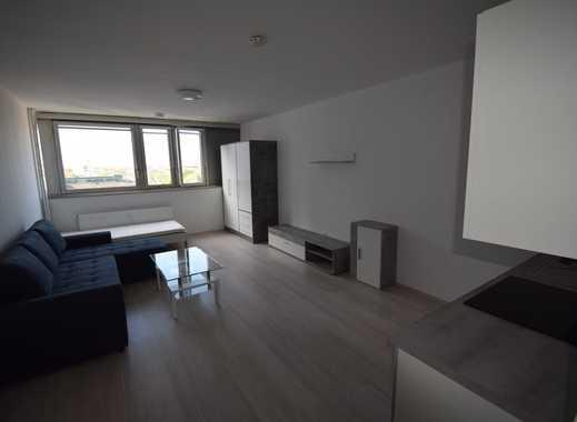 Stilvolle, voll möbilierte und renovierte 1-Zimmer-Wohnung mit Einbauküche in Neuehrenfeld, Köln