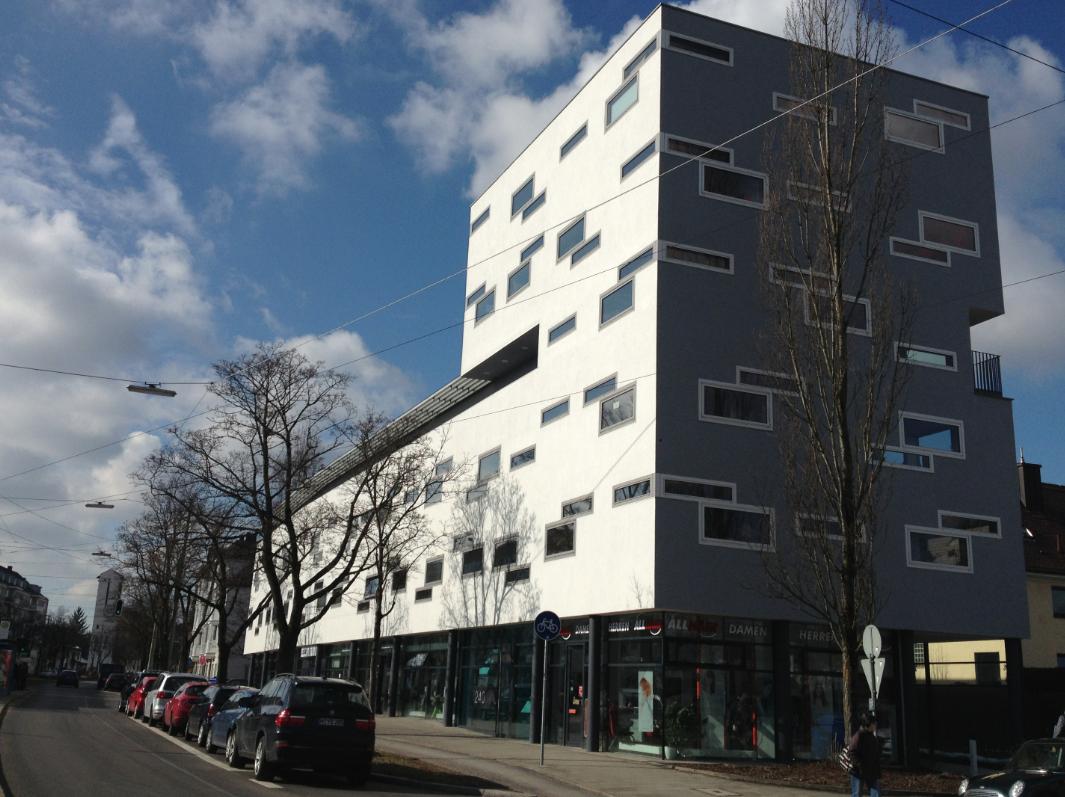 Modern - Maisonette - offener Grundriss - Blick