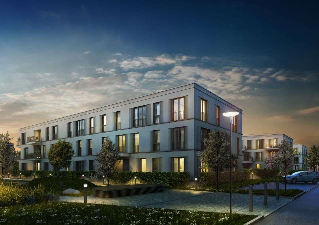Erstbezug mit Einbauküche und Balkon: exklusive 2,5-Zimmer-Dachgeschosswohnung in Regensburg in