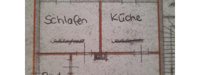 Erstbezug nach kompletter Sanierung/ Singlewohnung