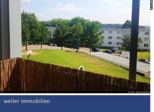 Komfortable 3 Zimmerwohnung mit Balkon in schöner Höhenlage - Saarbrücken - Eschberg