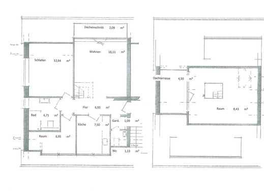 Sanierte 4,5-Zimmer-Maisonette-Wohnung mit Balkon in Essen