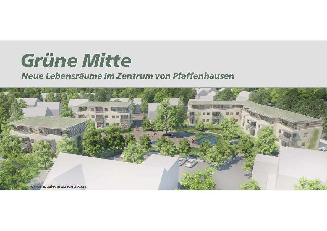 3-Zimmer-Wohnung mit Garten in Pfaffenhausen in
