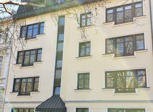 Wohnung mit Blick auf die Kaiser-Friedrich-Halle