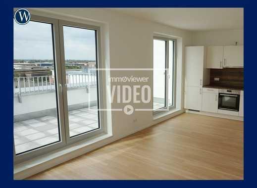 Penthouse in Neuallermöhe + 3 Zimmer + ERSTBEZUG + NEUBAU + große Dachterrasse
