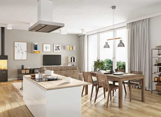 NEUBAU • 2-Zimmer • fast 35m² Wohnküche • Fußbodenheizung • am Volkspark mit EBK und großen Balkon