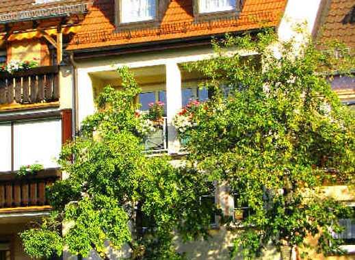 Einmalig-- ruhige sonnige Loggia mit freiem unverbaubarem Fernblick ins Grüne, dennoch Altstadtkern