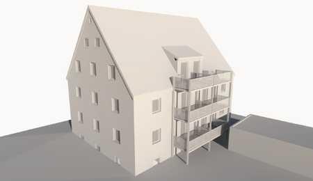 Erstbezug nach Sanierung: ansprechende 3-Zimmer-Wohnung mit Balkon in Schwabmünchen in Schwabmünchen