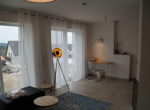 Wohnen auf Zeit  wunderschöne neue 2 Zimmerwohnung in Traumlage am Südhang mit Fernsicht