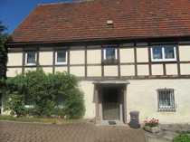 Grünhainichen Fachwerkhaus mit Nebengeb