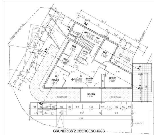 Grundriss 2.Obergeschoss - 1 z