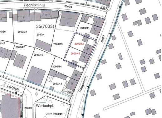 Grundstück mit Altbestand in Nymphenburg/ Neuhausen