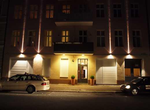 Etagenwohnung mit Balkon - teilmöbliert, 91 qm, Nähe Hbf.