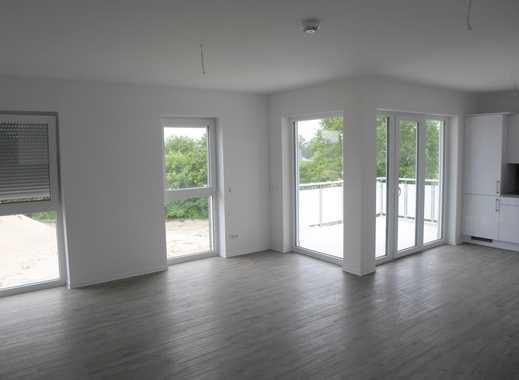 3-Zimmer-Neubau-Wohnung mit Tiefgarage, Fahrstuhl, großem Balkon und Einbauküche