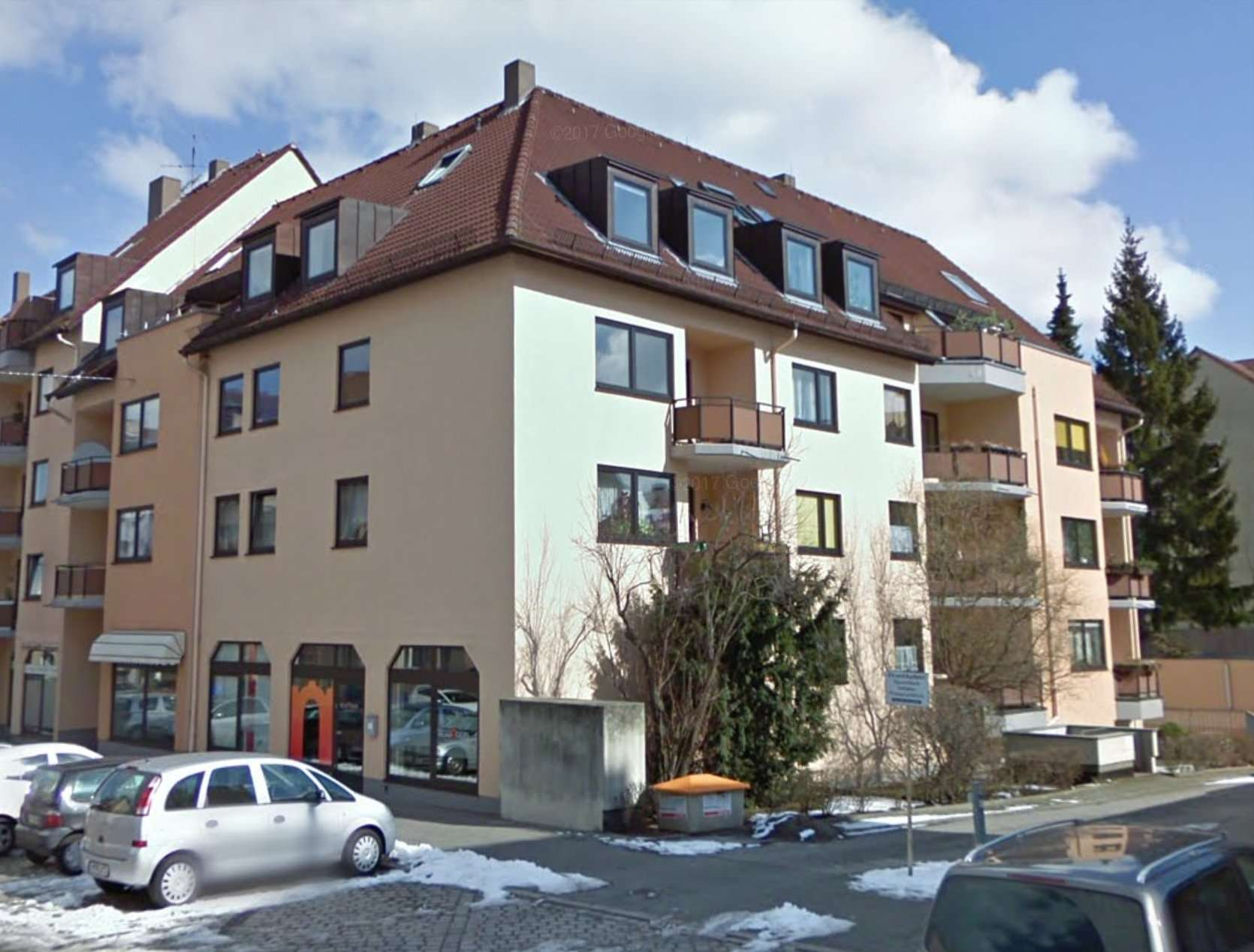 Gepflegte 3-Zimmer-Wohnung mit Balkon in Nürnberg in Uhlandstraße (Nürnberg)