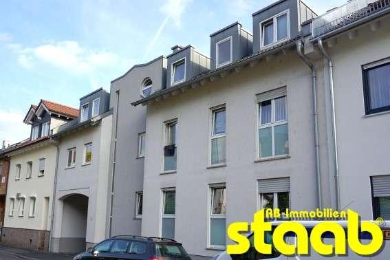 GEPFLEGTE 2-ZIMMERWOHNUNG MIT GROßEM BALKON *** RUHIGE LAGE!! in Schweinheim (Aschaffenburg)