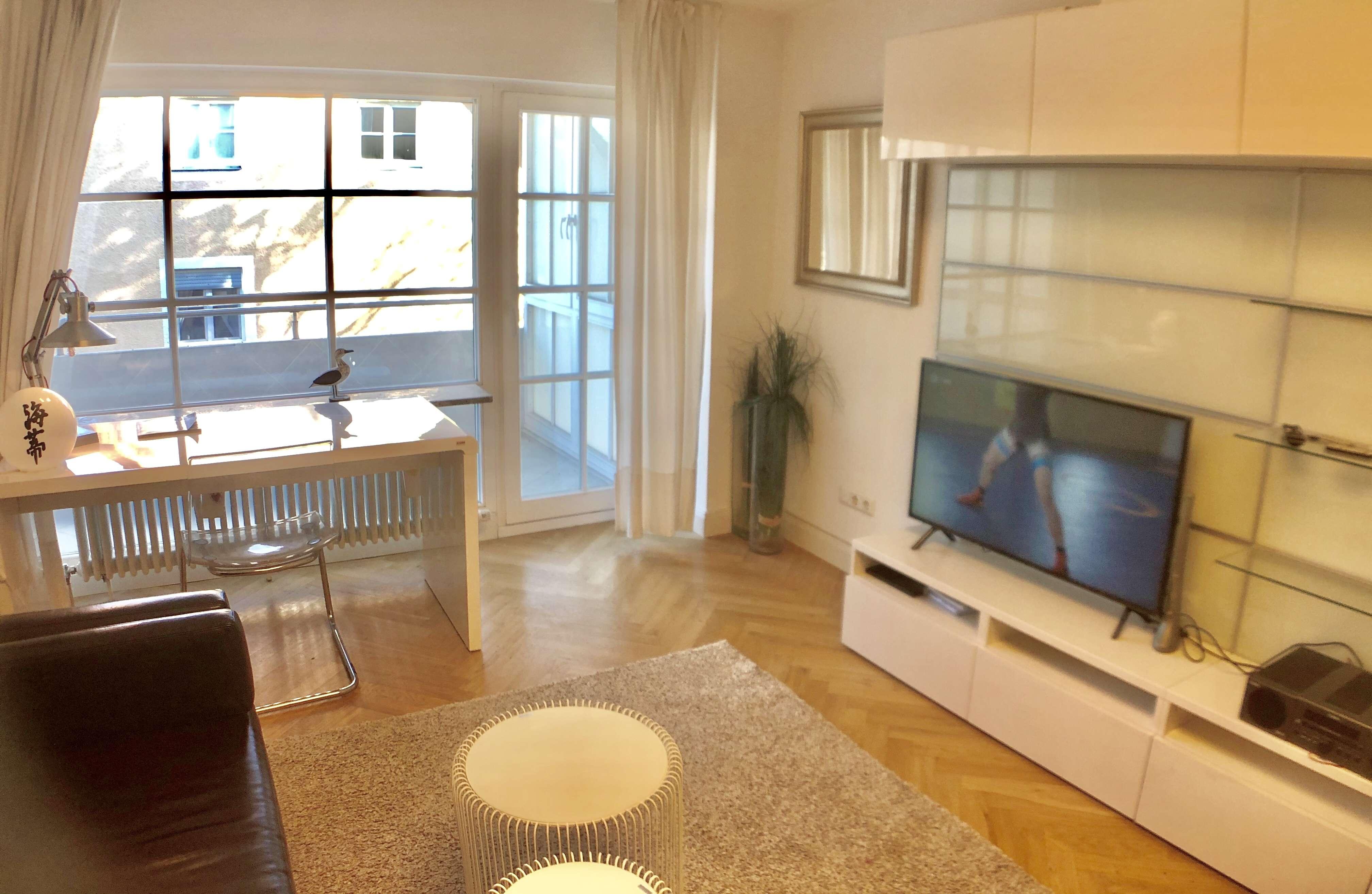 1 Zimmer Appartement Bogenhausen mit Terrasse in Bogenhausen (München)