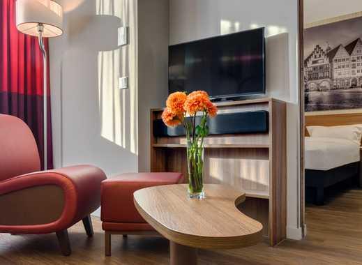 Serviced 2-Zimmer-Apartments an der Messe Frankfurt