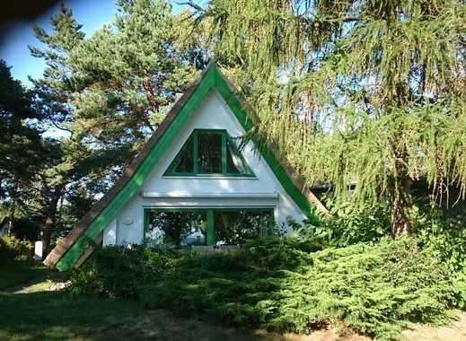 Finnhütte mit unverbaubarem Wasserblick