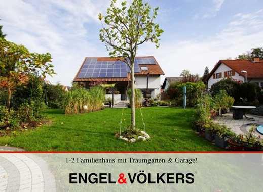 1-2 Familienhaus mit Traumgarten & Garage