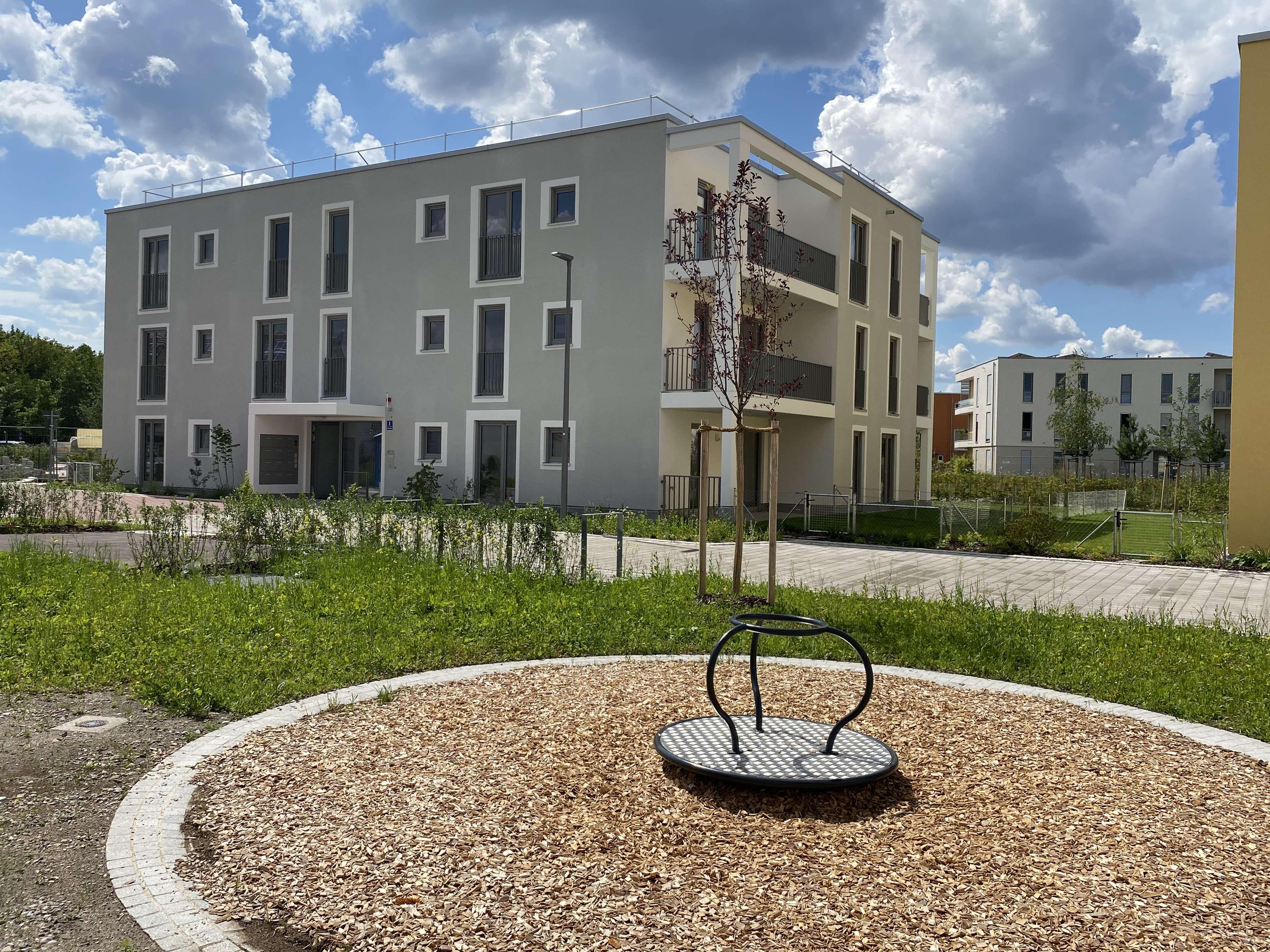 Exklusive 3-Zimmer-Wohnung Neubau Erstbezug in Vaterstetten bei München in